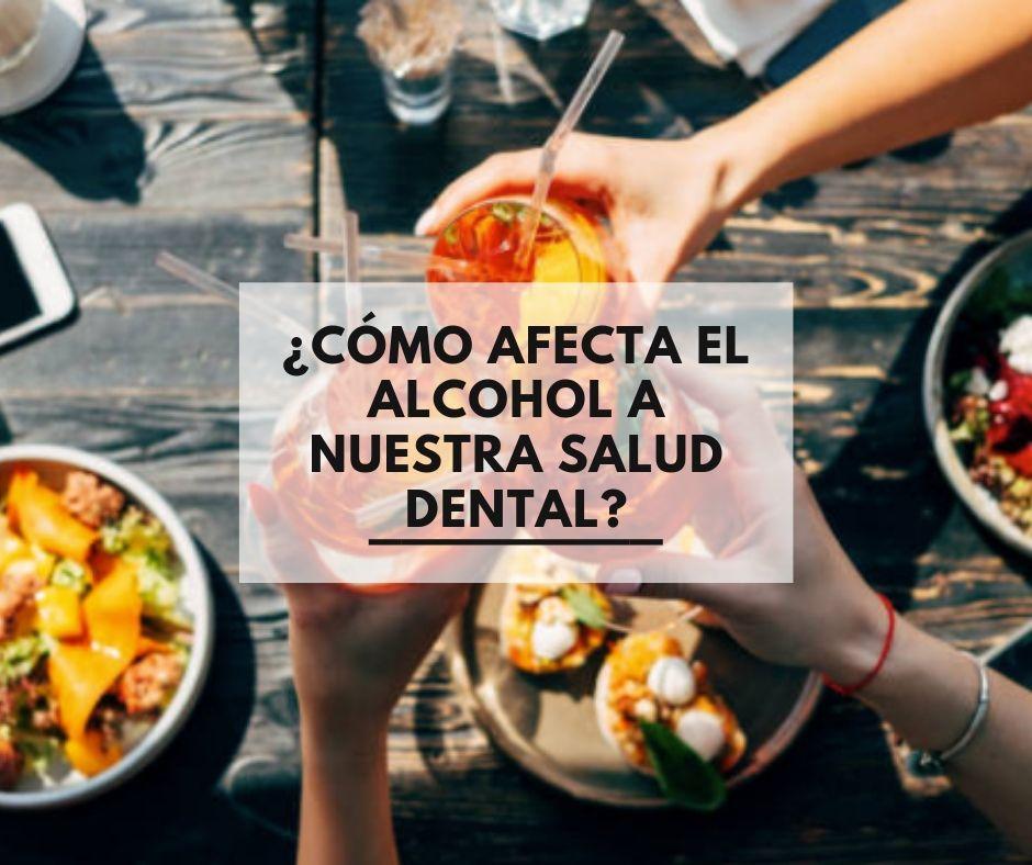 ¿Cómo afecta el alcohol a nuestra salud dental?