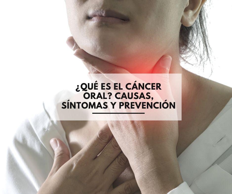 Cancer bucal sintomas y signos